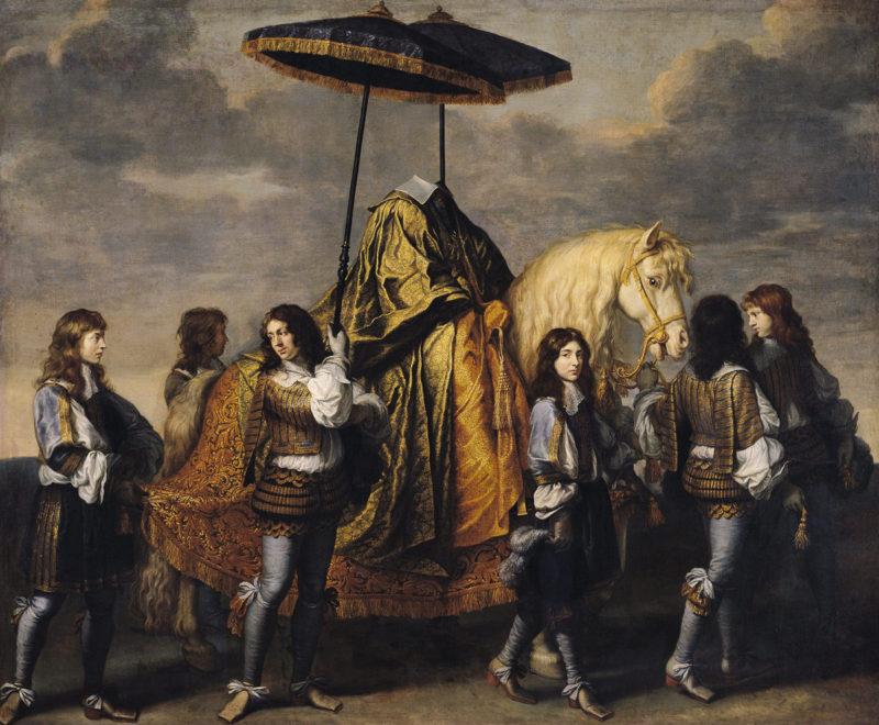 SL - Avec le temps… d'après Le Chancelier Seguier par Charles Le Brun (1619-90)