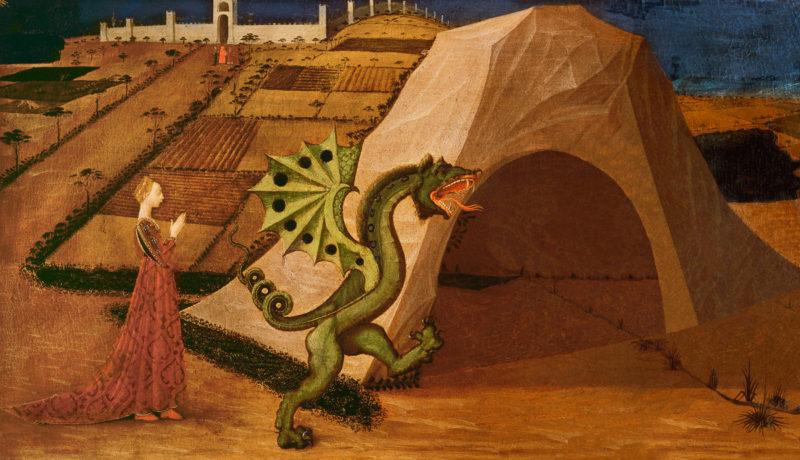 SL - Avec le temps… d'après Saint George et le Dragon par Paolo Uccello (1397-1475)