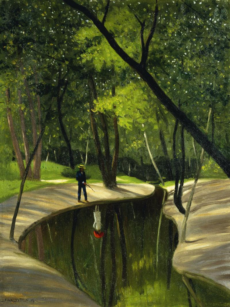 SL - Avec le temps… d'après Paysage du Boulogne par Felix Edoaurd Vallotton (1865-1925)